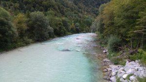 Soca River, Slovenien