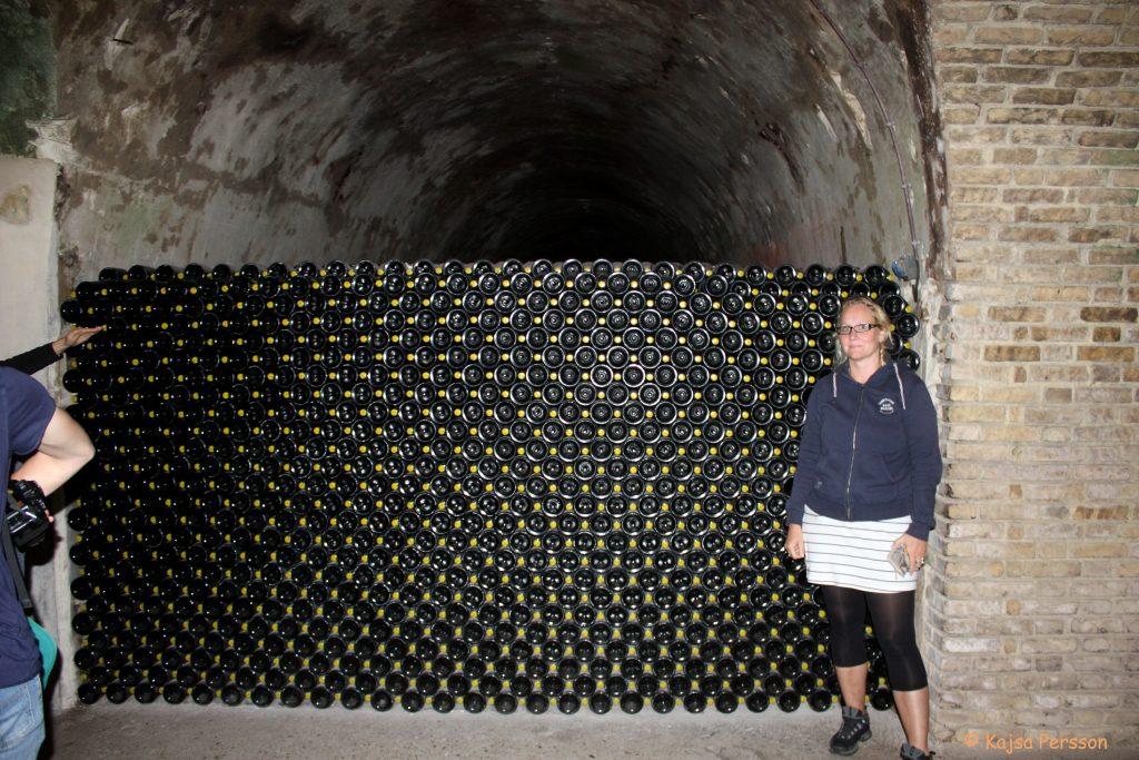 Lagring av Tattigner Champagne
