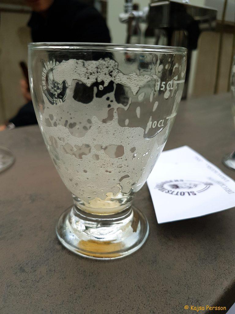 Skum i glaset