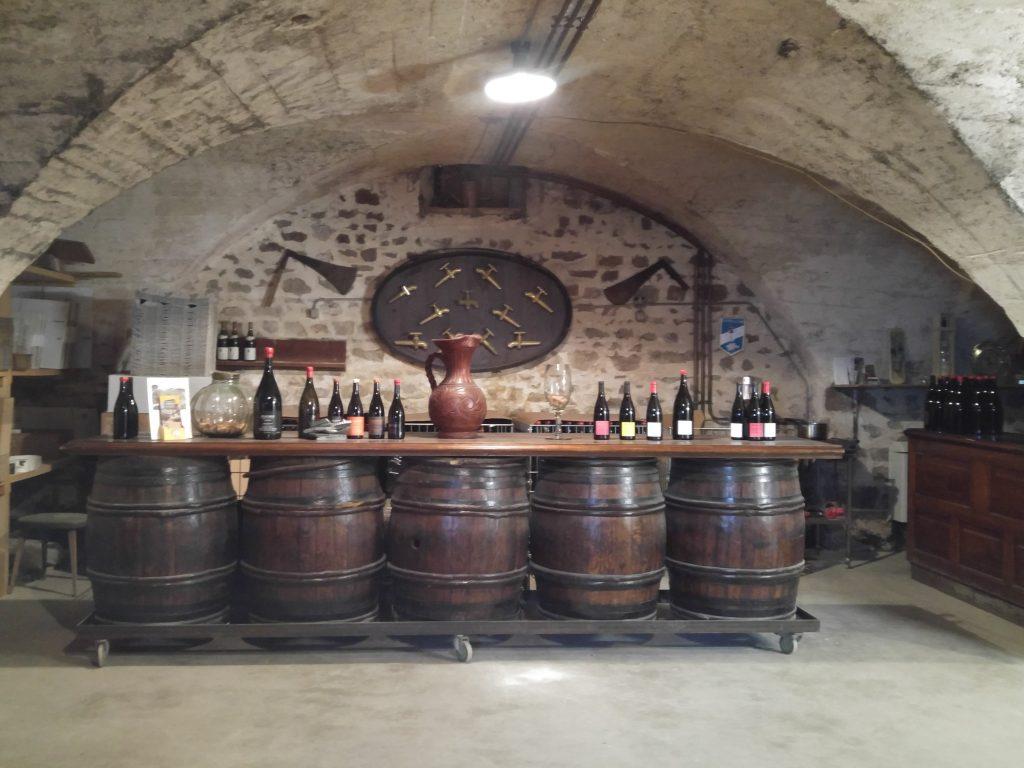 Domaine Chateau de Grand Pre provningsrum
