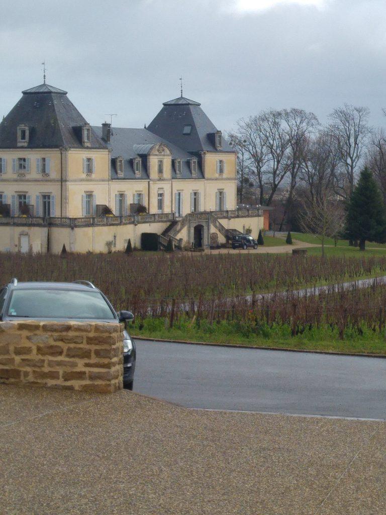 Chateau de citeaux i Mersault