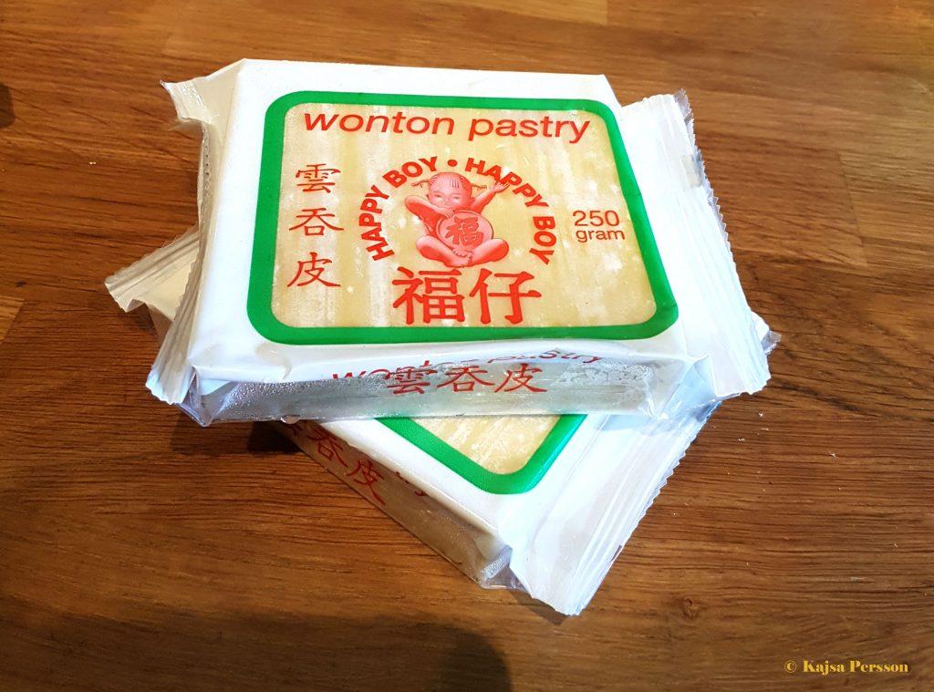 Wonton pasta