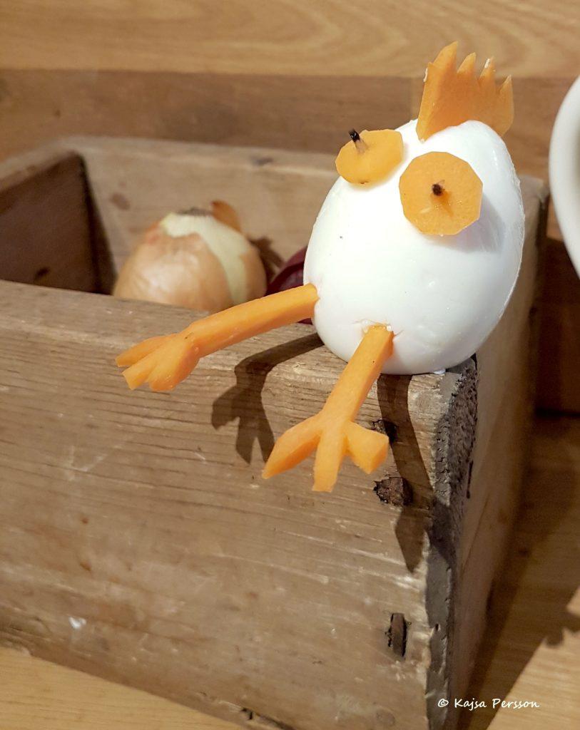 ägg och morot