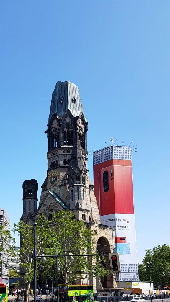 Berlin Kaiser Wilhelm Gedächtniskirche